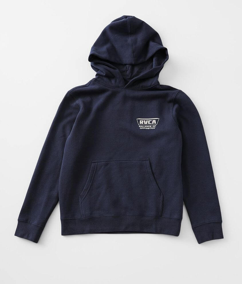 Boys - RVCA Clawed Hooded Sweatshirt front view