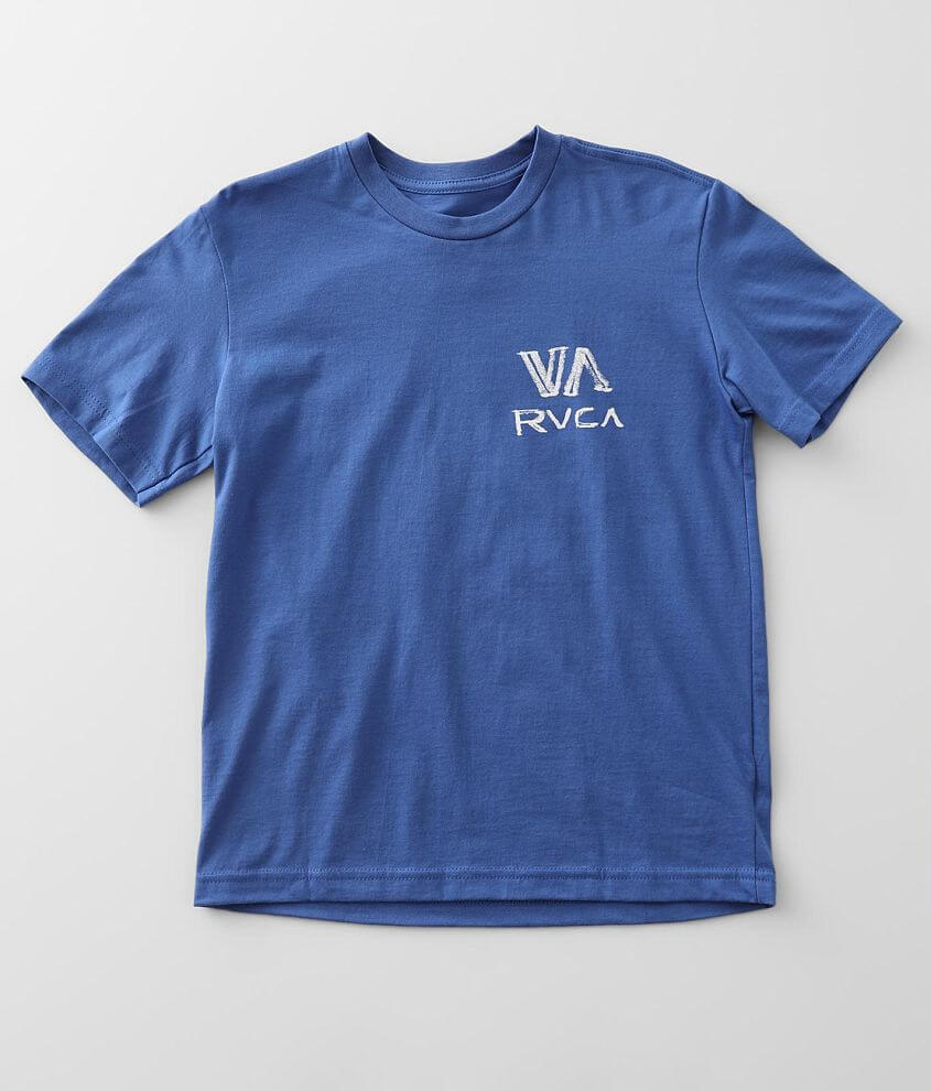 Boys - RVCA Dry Brush T-Shirt front view