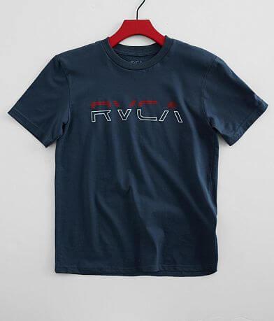 Boys - RVCA Split Pin T-Shirt
