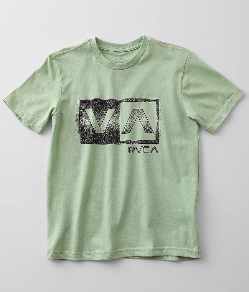 Boys - RVCA Balance Box T-Shirt front view