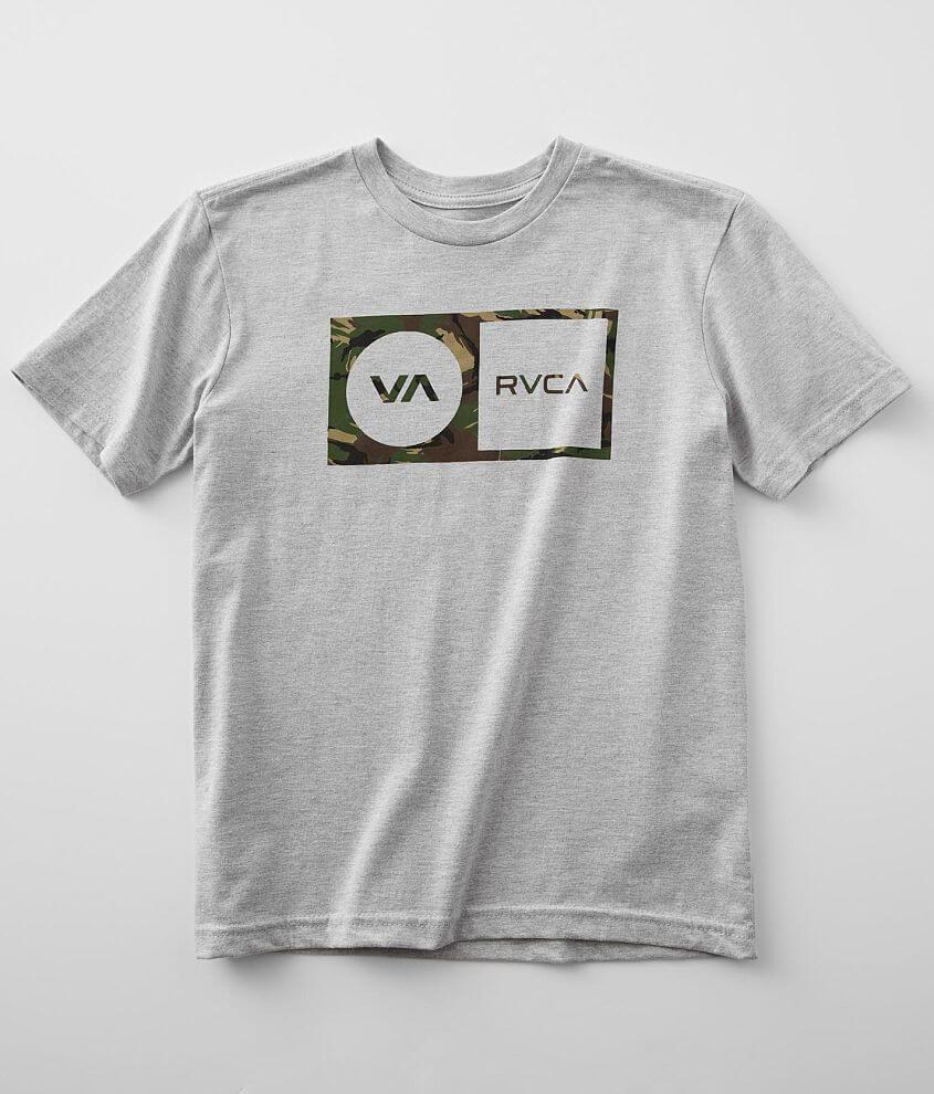 Boys- RVCA Balance Tropicamo T-Shirt front view