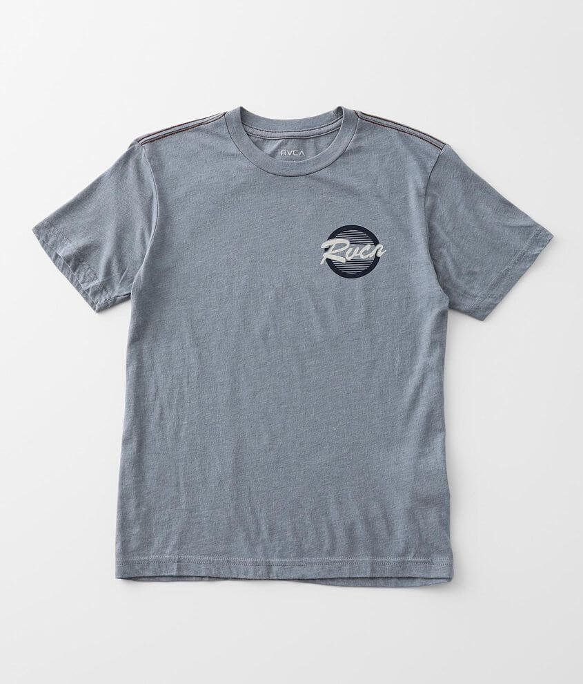 Boys - RVCA Homefield T-Shirt front view