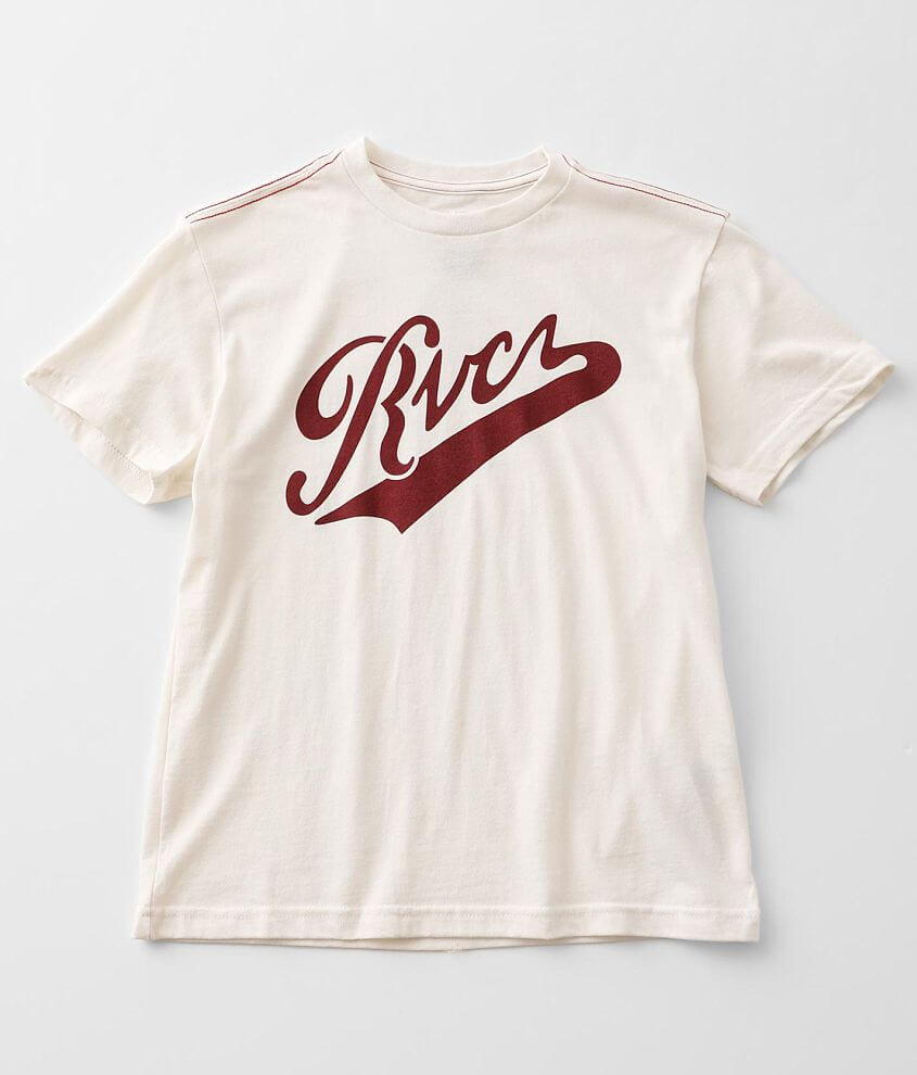 Boys - RVCA Pennant T-Shirt front view