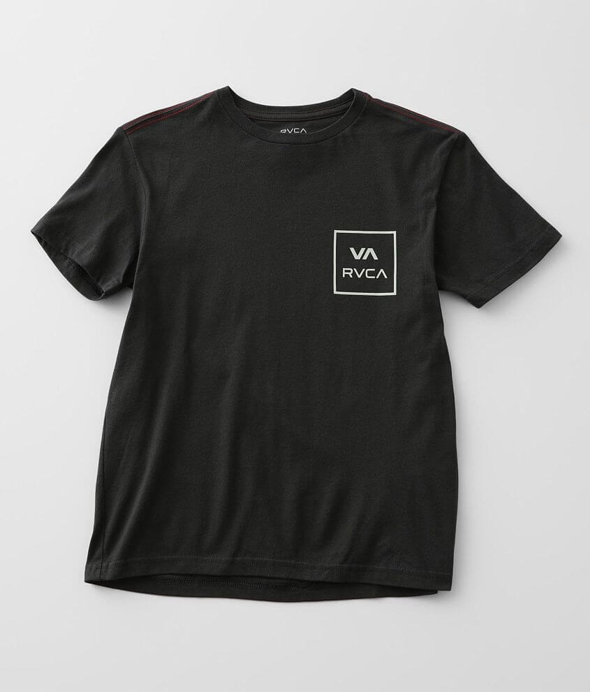 Boys - RVCA All The Way T-Shirt front view