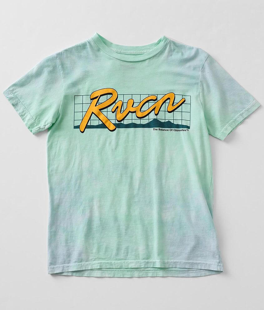 Boys - RVCA Neon Highway T-Shirt front view
