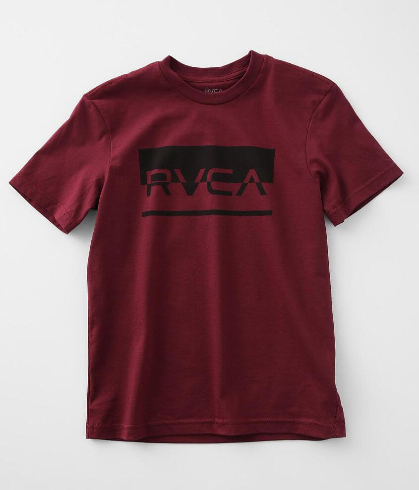 Boys - RVCA Fifty Fifty T-Shirt front view