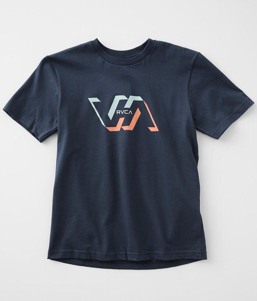 Boys - RVCA Facets T-Shirt front view