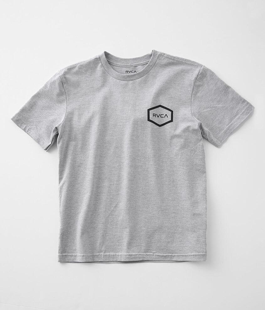 Boys - RVCA Universal Hex T-Shirt front view