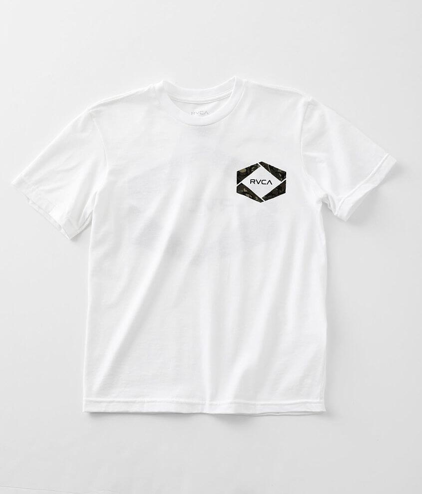 Boys - RVCA Hexer Fill T-Shirt front view