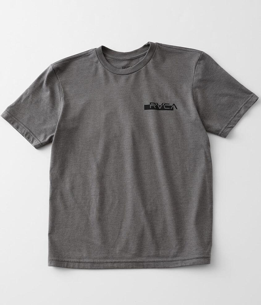Boys - RVCA Redacted T-Shirt front view