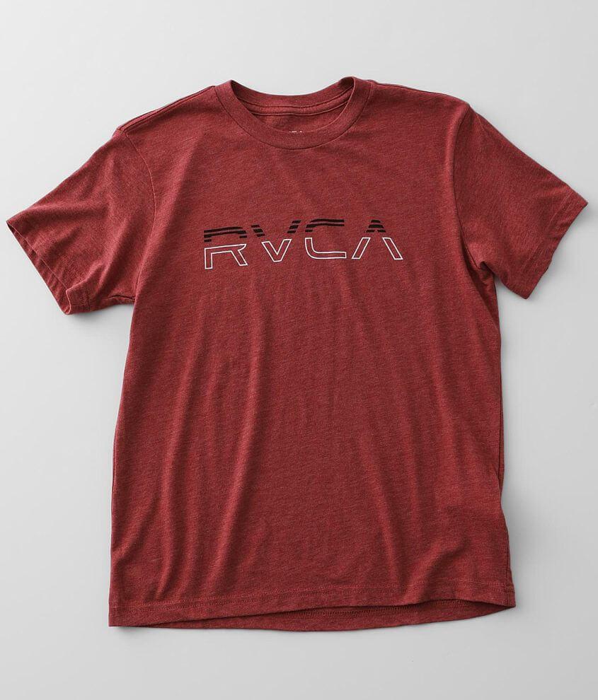Boys - RVCA Split Pin T-Shirt front view