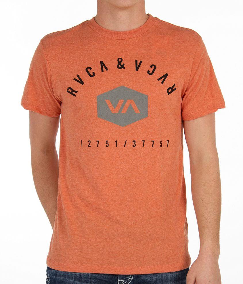 RVCA Retro T-Shirt front view