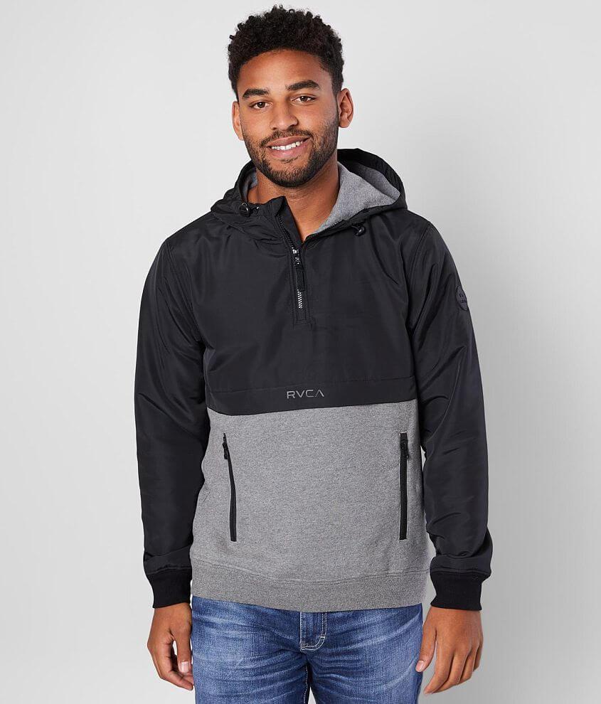 RVCA Camden Hooded Sweatshirt front view