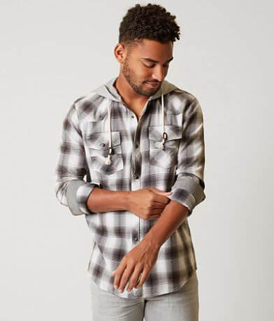 BKE Vintage Franklin Hooded Shirt