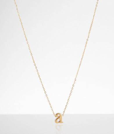 Sahira Jewelry Design Mini A Necklace