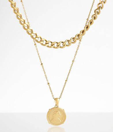 Sahira Jewelry Design Edina Coin Necklace