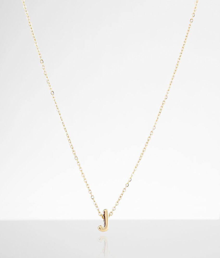 Sahira Jewelry Design Mini J Necklace