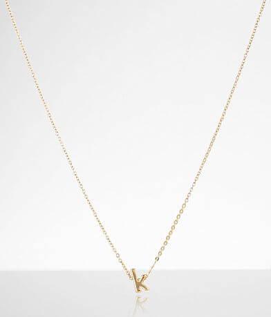 Sahira Jewelry Design Mini K Necklace