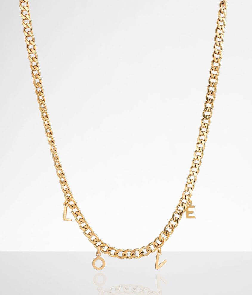 Sahira Jewelry Design Love Chain Necklace
