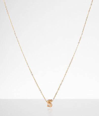 Sahira Jewelry Design Mini S Necklace