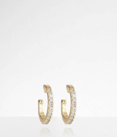 Sahira Jewelry Design 2 Pack Sparkle Ear Cuffs