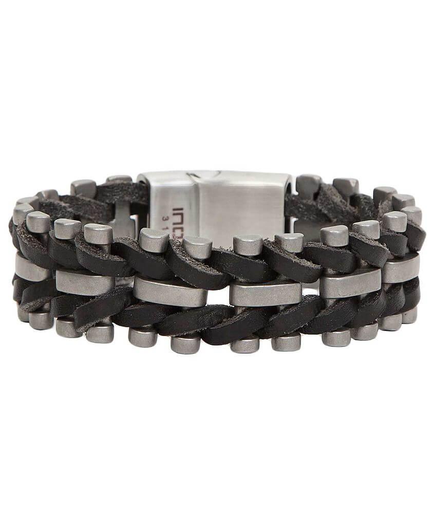 Inox Weaved Bracelet front view