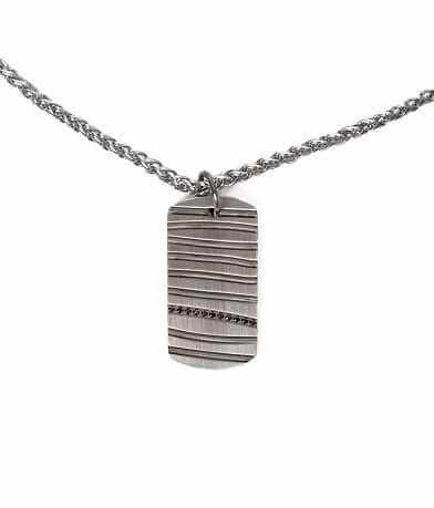 Inox Metal Line Necklace