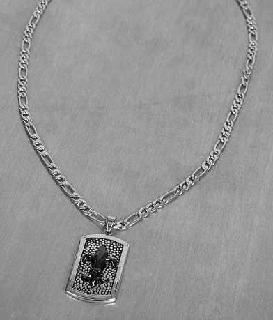 Inox Fleur Necklace