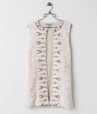 Flying Tomato Embroidered Vest