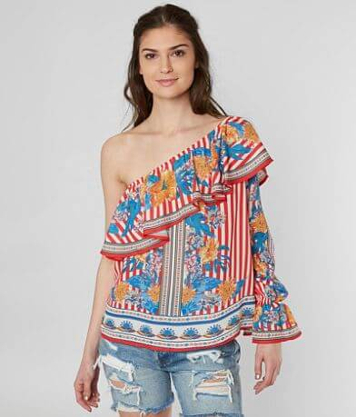 Flying Tomato Floral Print Top