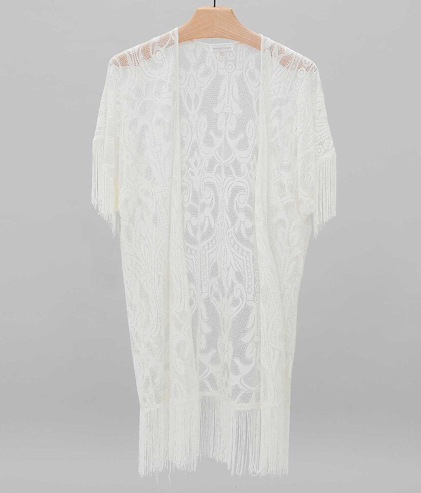 Jealous Tomato Lace Cardigan - Women's Kimonos in Off White | Buckle