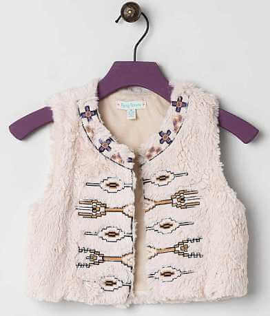 Girls - Flying Tomato Embroidered Vest