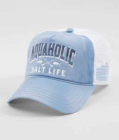 Salt Life Aquaholic Baseball Hat