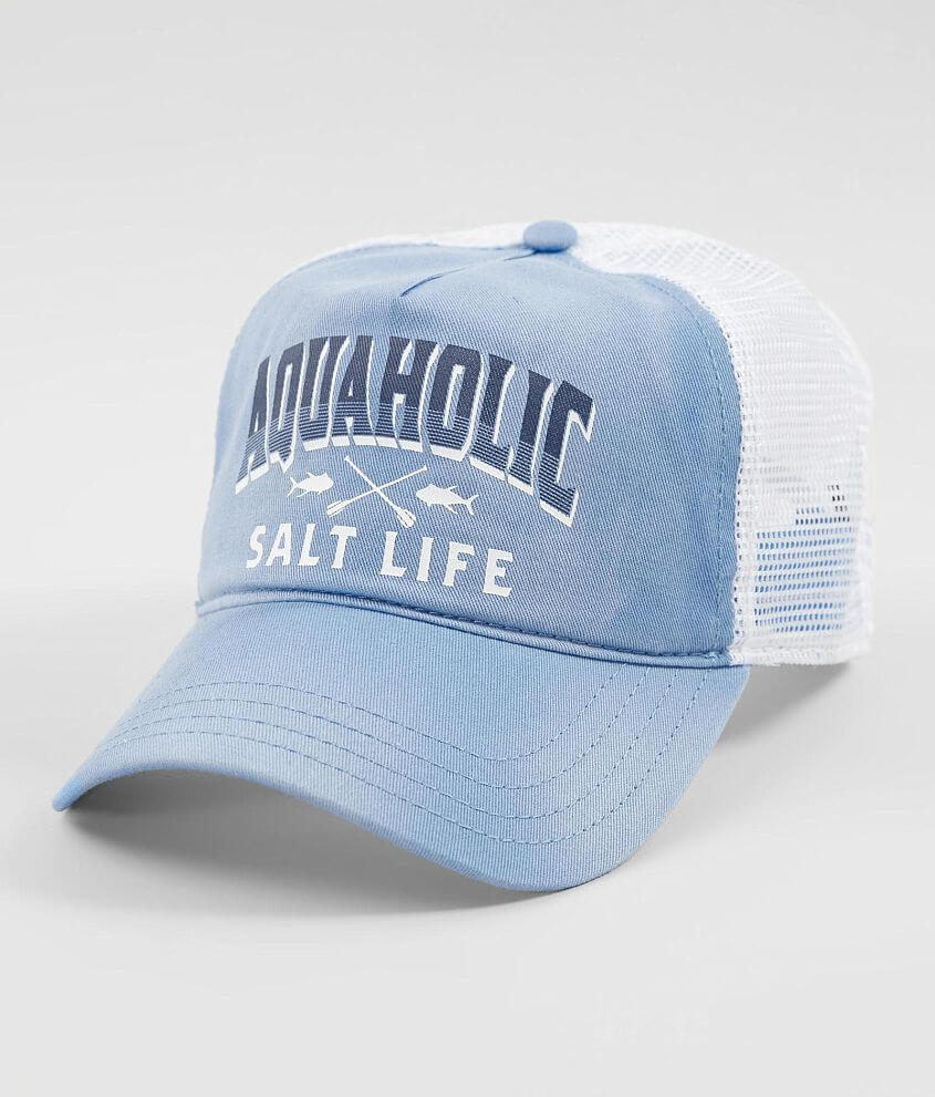 Salt Life Aquaholic Baseball Hat - Women s Hats in Chambray  0162c3ec820
