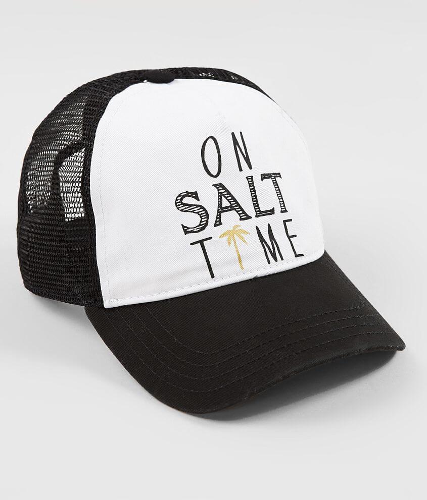 Salt Life Salt Time Living Trucker Hat - Women s Hats in Black  c359d48dacf