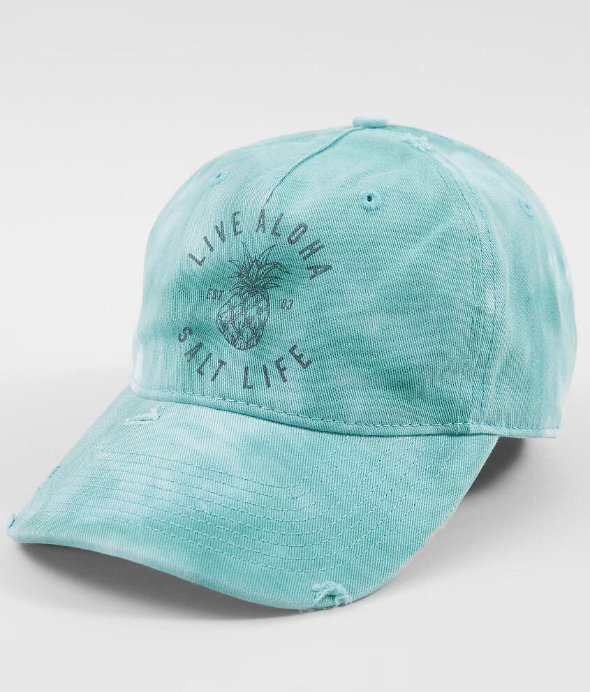 Salt Life Live Aloha Baseball Hat - Women s Hats in Aqua Sky  a37bb9c48ae