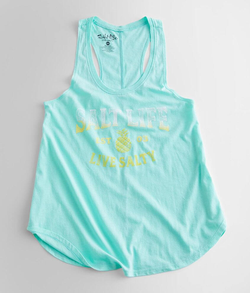 Salt Life Pineapple Whip Tank Top front view