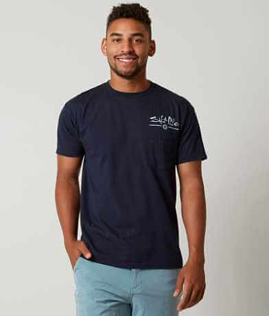 Salt Life Feet Up Anchor Down T-Shirt
