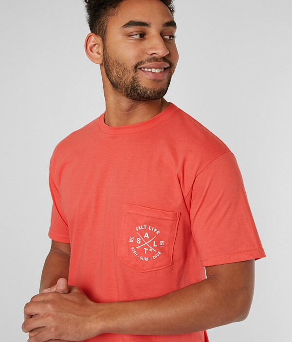 Original Shirt Life T Salt Salt qwxF5wAZ0