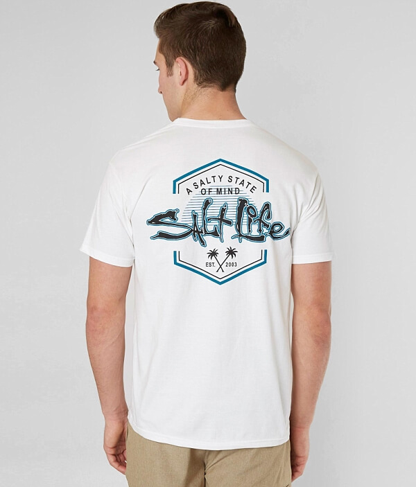 Mind State T Salt Life Salty Of Shirt 46II1qanw