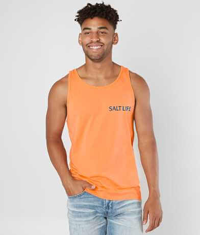 Salt Life Life In The Cast Lane Tank Top