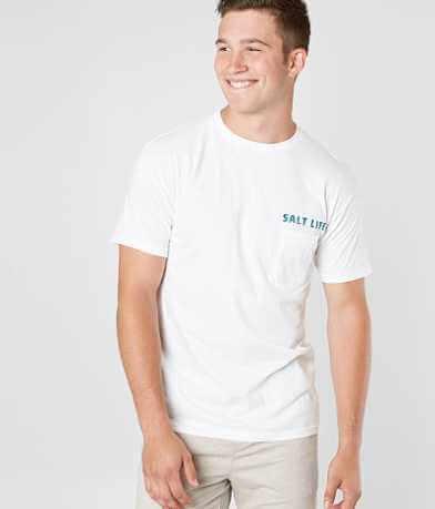 Salt Life Aquaholic T-Shirt