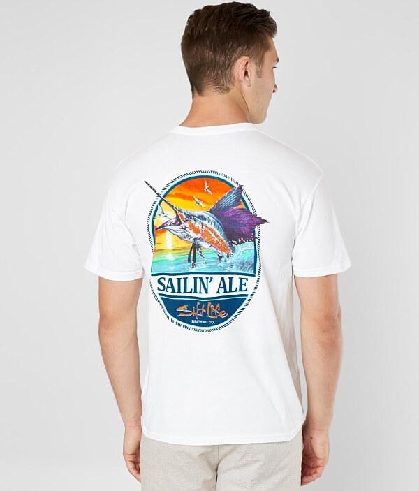 Sailin' T Ale Shirt Salt Life FxYwff