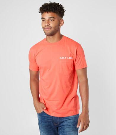 Salt Life Anchored Marlins T-Shirt