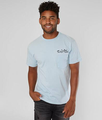 Salt Life Aquaholic Flags T-Shirt