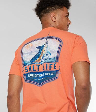 Salt Life Blue Storm Brew T-Shirt