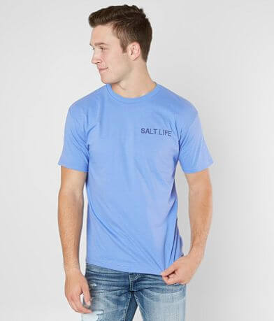 Salt Life Red & White Bluefin T-Shirt