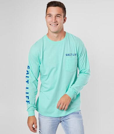 Salt Life Blue Store Brew T-Shirt