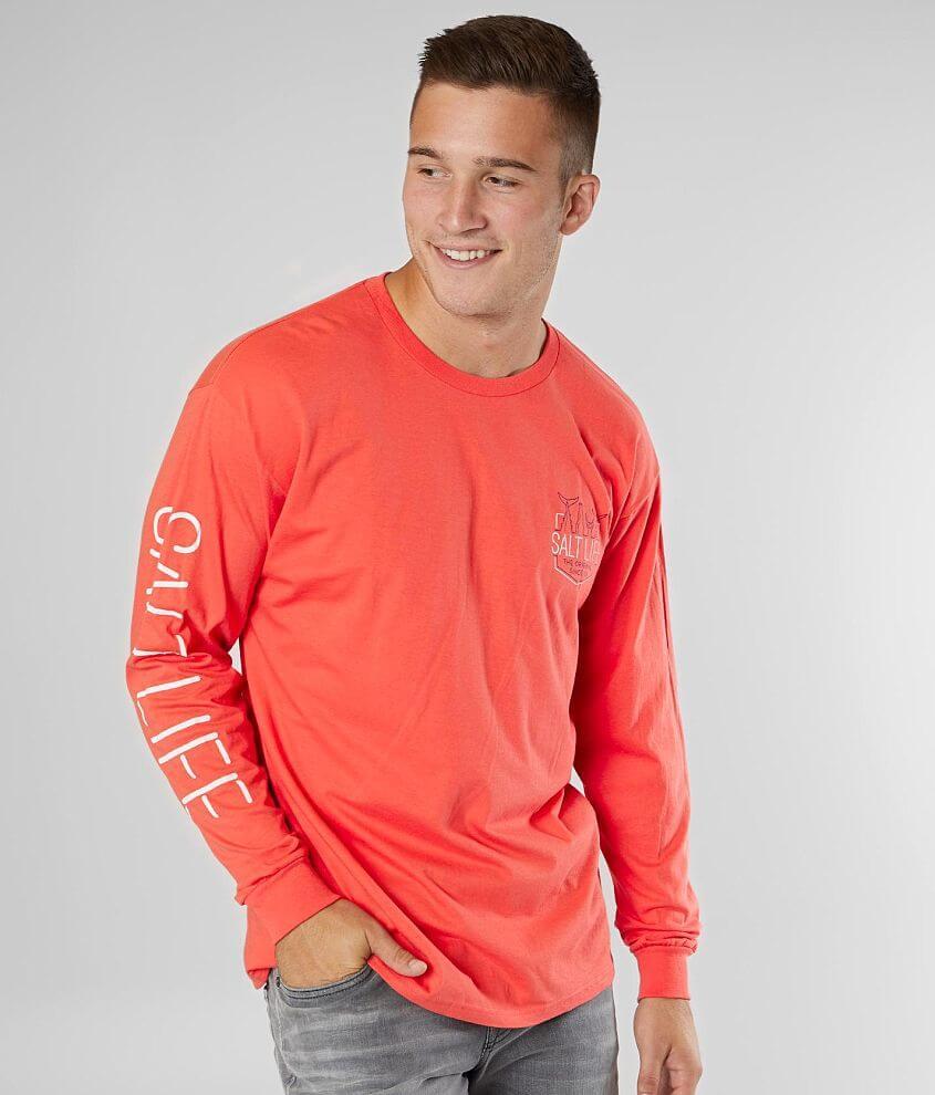 Salt Life Neon Tails T-Shirt front view