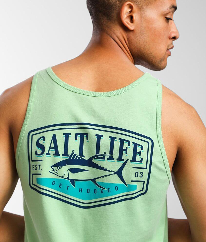 Salt Life Tuna Steak Tank Top front view